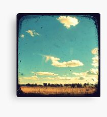 Thunderbolt Country Through The Viewfinder (TTV) Canvas Print