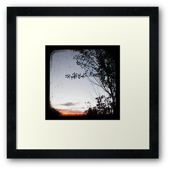 New England Sunset Through The Viewfinder (TTV) by Kitsmumma