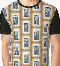 Filigree TARDIS Paper Graphic T-Shirt