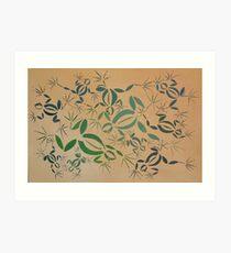 Frogs Horizontal Art Print