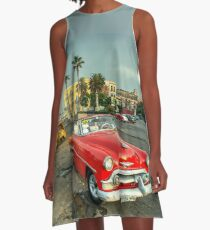 Chevy on the Prom  A-Line Dress