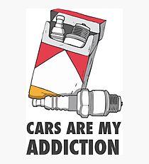 Cars are my addiction Photographic Print
