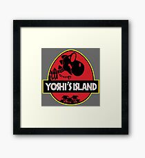 Yoshi's Island (Filled) Framed Print