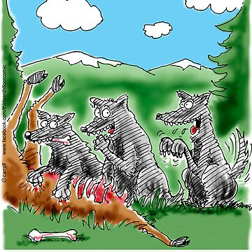 Wolf Hybrid - a pack outcast by 13thfloorcomic