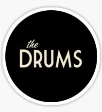 The Drums logo  Sticker
