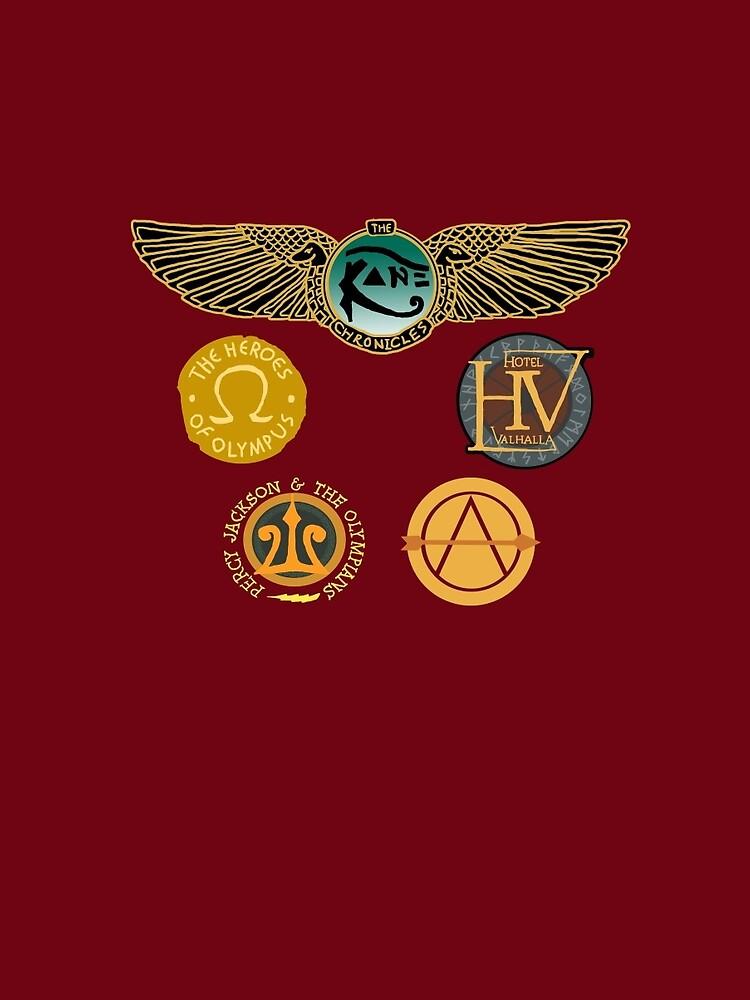 Logotipos de Rick Riordan de 11ronnie