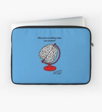 Why does travelling make you smarter? Laptop Sleeve