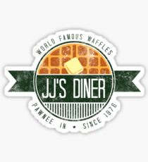 jj's diner - farbe Sticker
