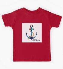 Moms Anchor Kids Tee Kids Clothes