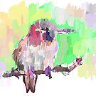 Colourful Bird by Rabbott