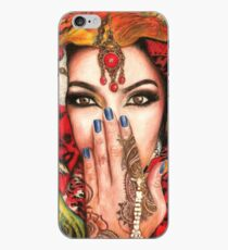 Arabic Beauty iPhone Case