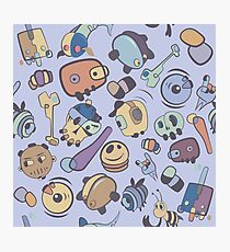 abstract  characters  Photographic Print