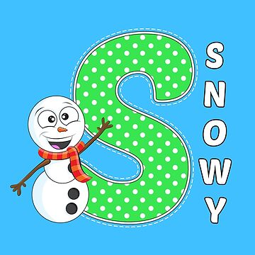 'S' is for Snowy! by Apptronics