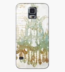 Gold and Teal Chandelier Case/Skin for Samsung Galaxy