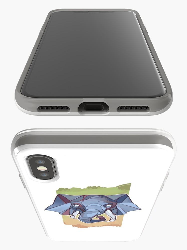 Alternative Ansicht von Dickhäuter iPhone-Hülle & Cover
