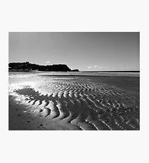 Sand between my toes Photographic Print