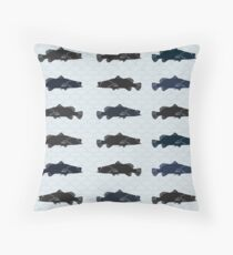Barramundi Repeat Throw Pillow Light Throw Pillow
