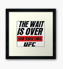 john bones jones ufc Framed Print