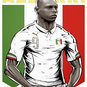 Balotelli italy World Cup Shirt by jeffygar97