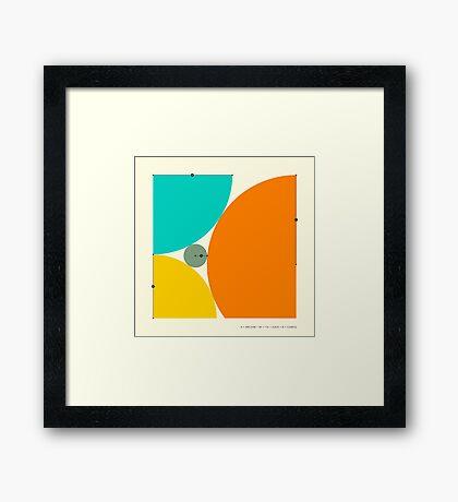 DESCARTES' THEOREM Framed Print