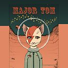 Major Tom ipad case by nouvellegamine