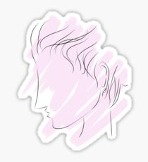 The Lonely Woman Sticker