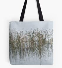 Reeds in Lake Burley Griffin Tote Bag