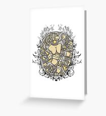 Ancient Puzzle Greeting Card