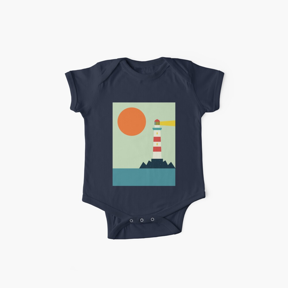 Lighthouse Baby One-Pieces