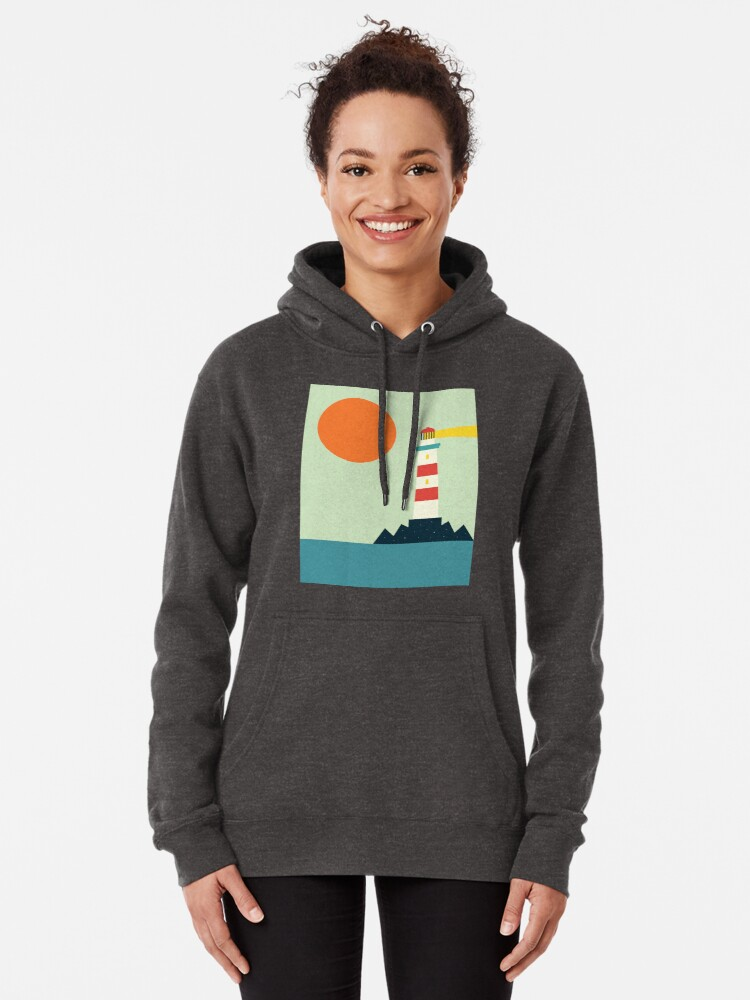 Alternate view of Lighthouse Pullover Hoodie