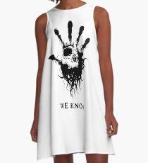 Dark Brotherhood A-Line Dress