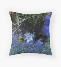 Bluebell brook – Leigh Hill – Surrey Throw Pillow