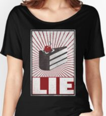 We want the truth! Women's Relaxed Fit T-Shirt