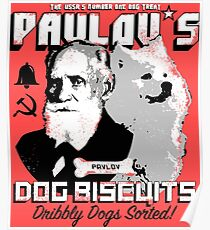 Pavlov's Dog Biscuits Poster