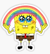 SpongeBobs Imagination Sticker