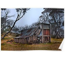 Wallace Hut, High Country Victoria Poster
