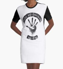 DARK BROTHERHOOD Graphic T-Shirt Dress