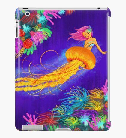 Jellyfish Mermaid! iPad Case/Skin