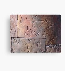 Steel Sculpture Canvas Print