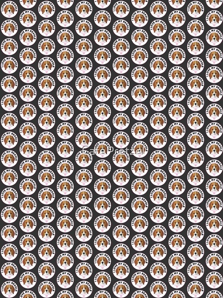 Love My Beagle Dog by CafePretzel