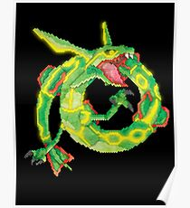 rayquaza Poster