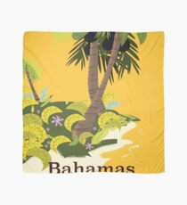 Take a Vacation Bahamas vintage travel poster Scarf