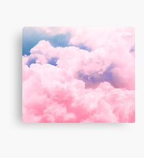 Candy Sky Canvas Print