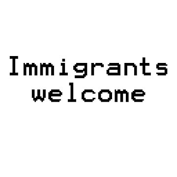 Immigrants welcome by InternSkye