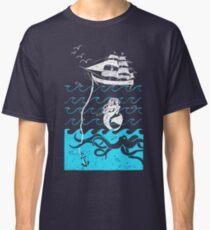 Nautical Waves Classic T-Shirt