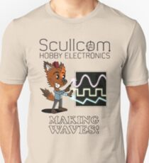 Scullcom, Making Waves Unisex T-Shirt