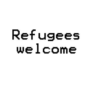 Refugees welcome by InternSkye