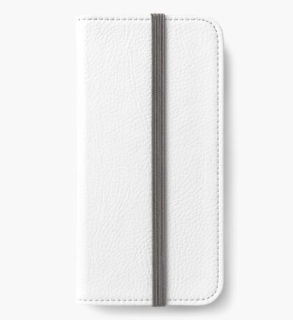 Wheel of Death - White iPhone Wallet