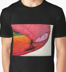 Surfing on Mars Graphic T-Shirt