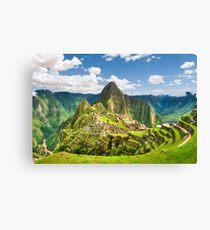 Machu Pichu, Peru Canvas Print